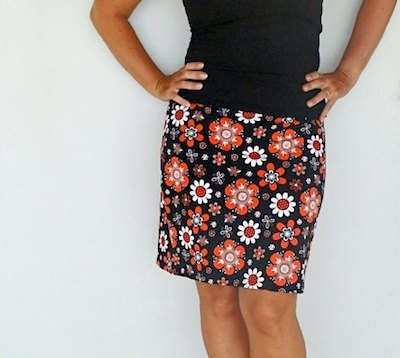 easy skirt sewing pattern