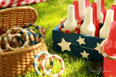 diy ring toss, diy lawn games