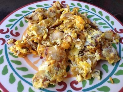 spicy mexican scrambled eggs recipe