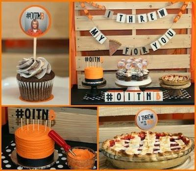 dessert party decorations