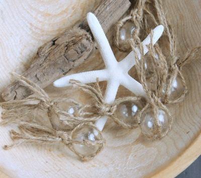 glass buoys starfish