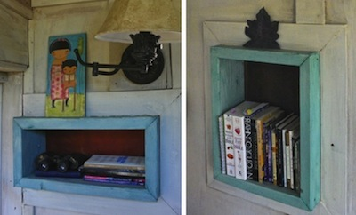 book shelf nook