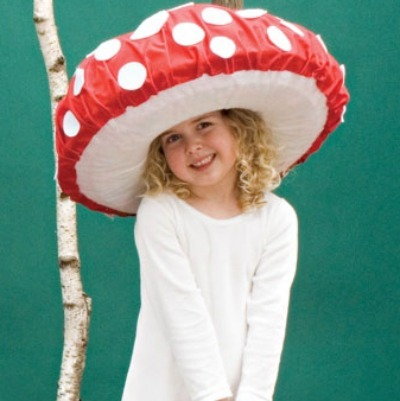 Toadstool kids halloween costume