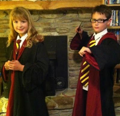 Harry Potter kids halloween costumes