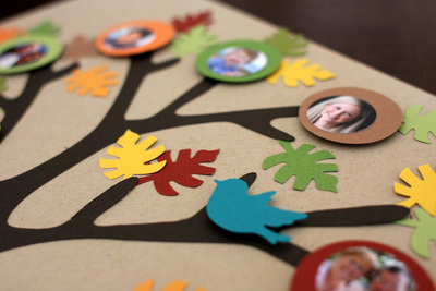 family tree paper craft