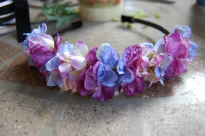 Flower headpiece