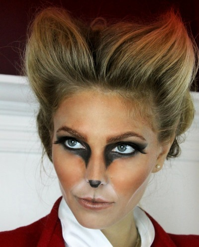 Halloween make up, Fox make up, DIY animal costumes