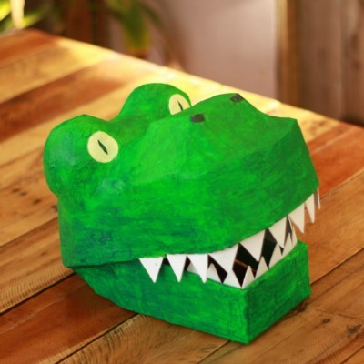 DIY T-Rex mask, Homemade halloween costume, Dinosaur costume, DIY dinosaur mask, DIY Halloween mask
