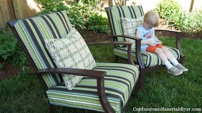 easy sew patio furniture cushions