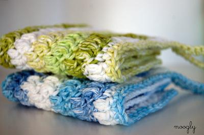 crochet washcloth moogly