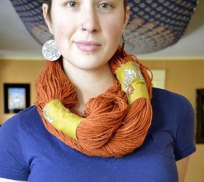 No-sew infinity scarf