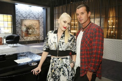 Gwen Stefani, Gavin Rossdale, celebrity style, plaid button up shirt pattern, plaid shirt tutorial, plaid crafts