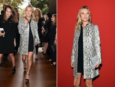 Kate Moss in Coat