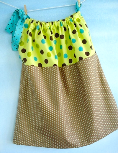 little girl pillowcase dress pattern