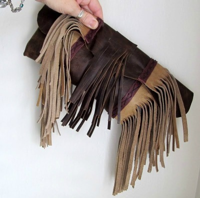 Celebrity Style, Olivia Palmero, fringe, leather fringe purse, fringe purse, fringe clutch