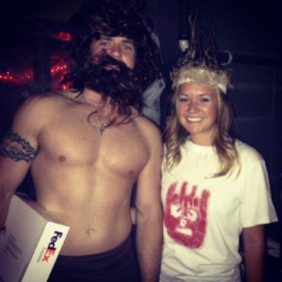 Tom Hanks Castaway homemade halloween Costume