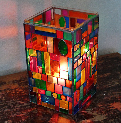 luminaries, luminaria, stained glass crafts, paper lanterns, diy lanterns, luminaries diy, luminaries for kids