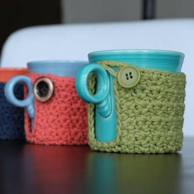 Crochet Hug Mug Cozy