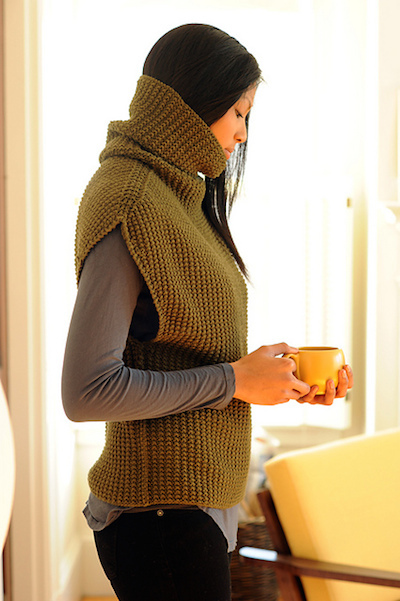 oversize pullover knit sweater pattern