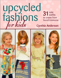 upcycled fashions for kids book