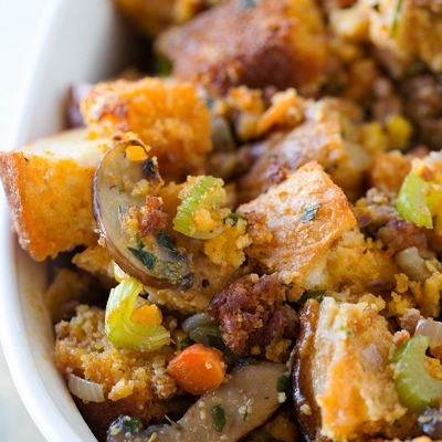 Homemade stuffing recipe, chorizo stuffing recipe, Thanksgiving stuffing recipe