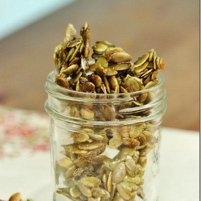 roasted pumpkin seeds recipe, cinnamon pumpkin seeds recipe