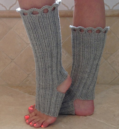 knit yoga socks boot toppers