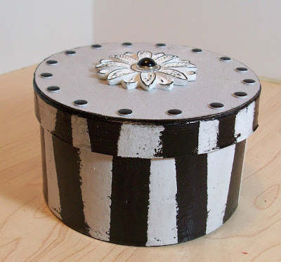 painted paper box