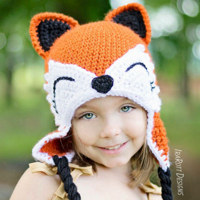 Adorable Animal Crochet Hat Patterns - Craftfoxes