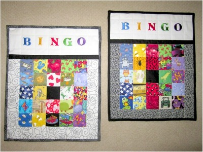 bingo quilt craft