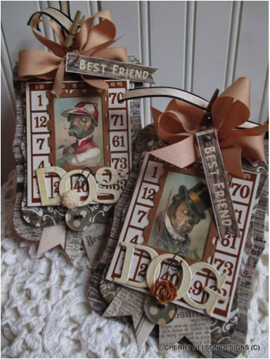bingo card picture frame