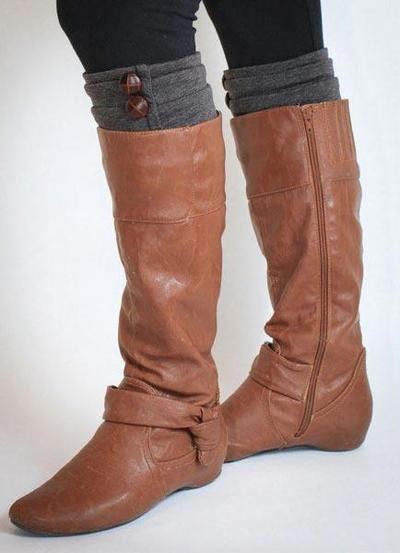 Boot Cuff Sewing Pattern