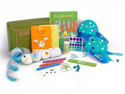 craft kit for kids -- Kiwi Crate