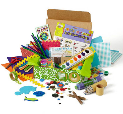 eco-friendly kids craft kit