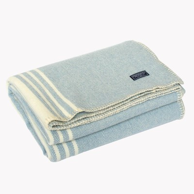 retro woolen throw blanket