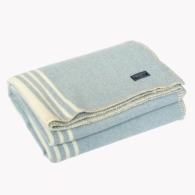 retro woolen throw blanket