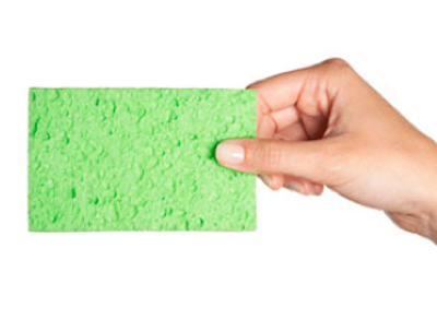 how to clean smelly sponge