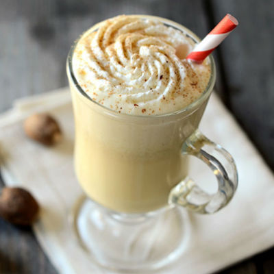 Homemade traditional egg nog recipe