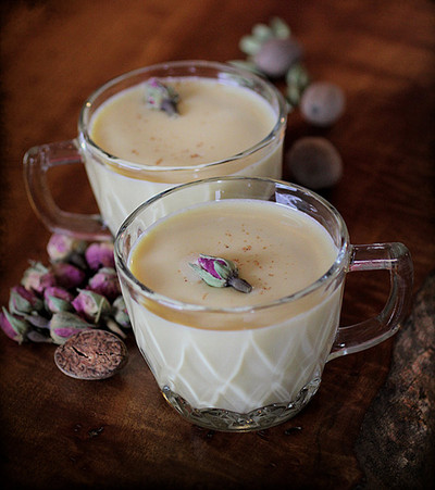 rose cardamom egg nog recipe