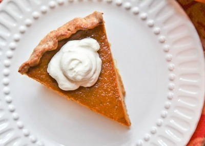 Caramel Spice Pumpkin Pie