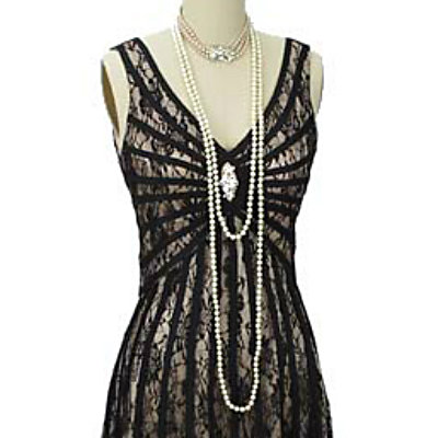 great gatsby retro dress 1920s