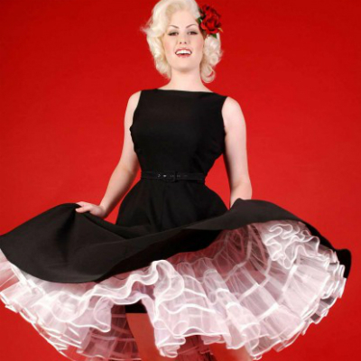 tayana retro dress, pinup dress