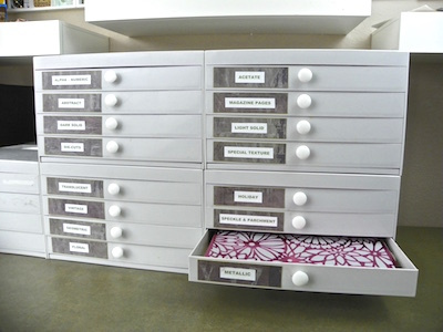 stackable scrapbook paper drawers liss fulmer