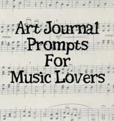 art journal music prompts