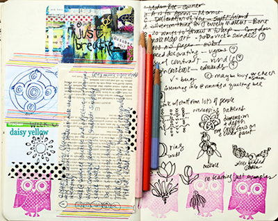 prompt 60 art journal