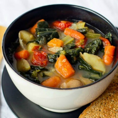 Chunky and Healthy Vegetable Soup Recipe