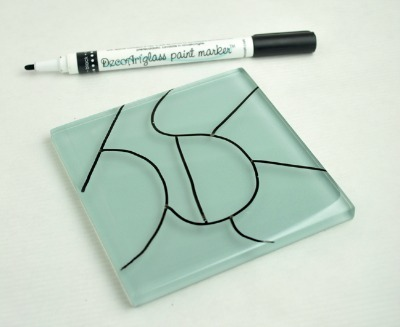 Zentangle Coaster