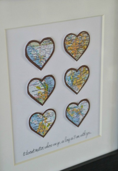 Heart-framed Maps