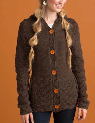 merci hoodie knitting pattern