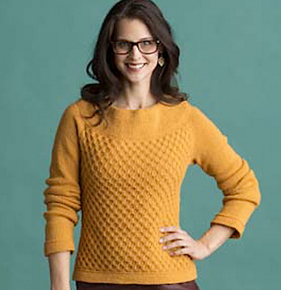 sunshine pullover sweater knitting pattern